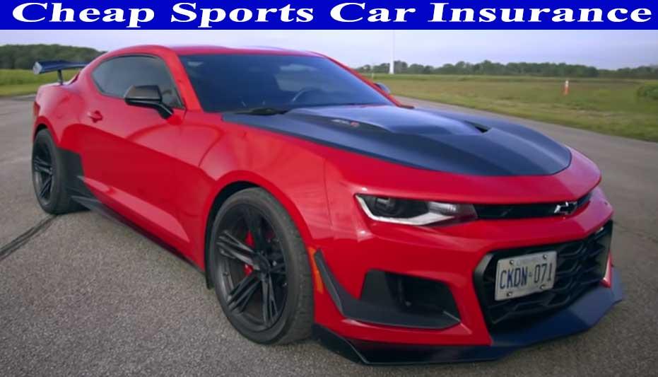 cheap sports car insurance