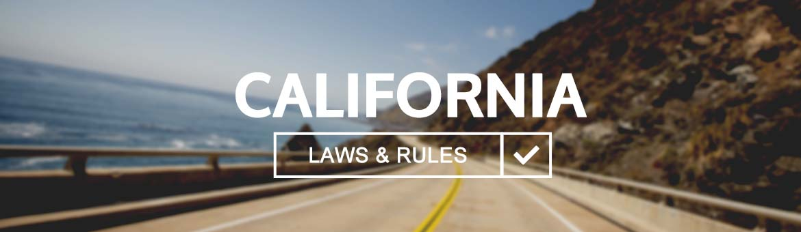 California Driver Laws