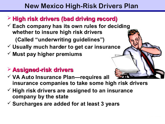 new mexico high-risk drivers plan