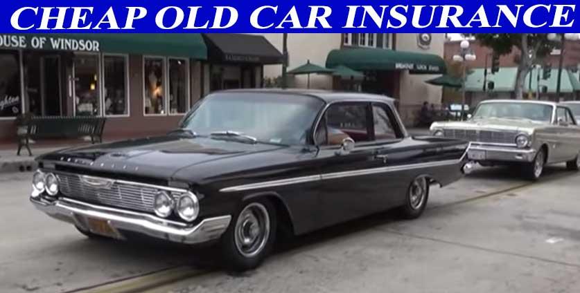 cheap old car insurance