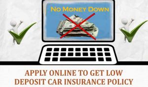 car insurance with no down payment