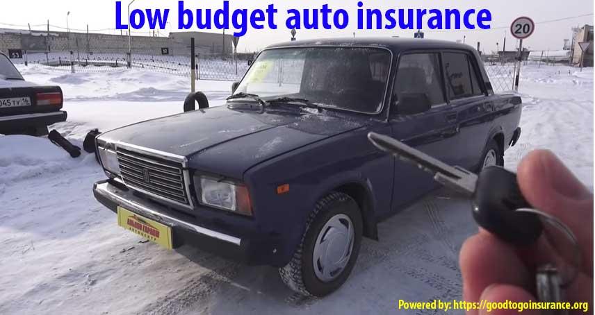 low budget auto insurance